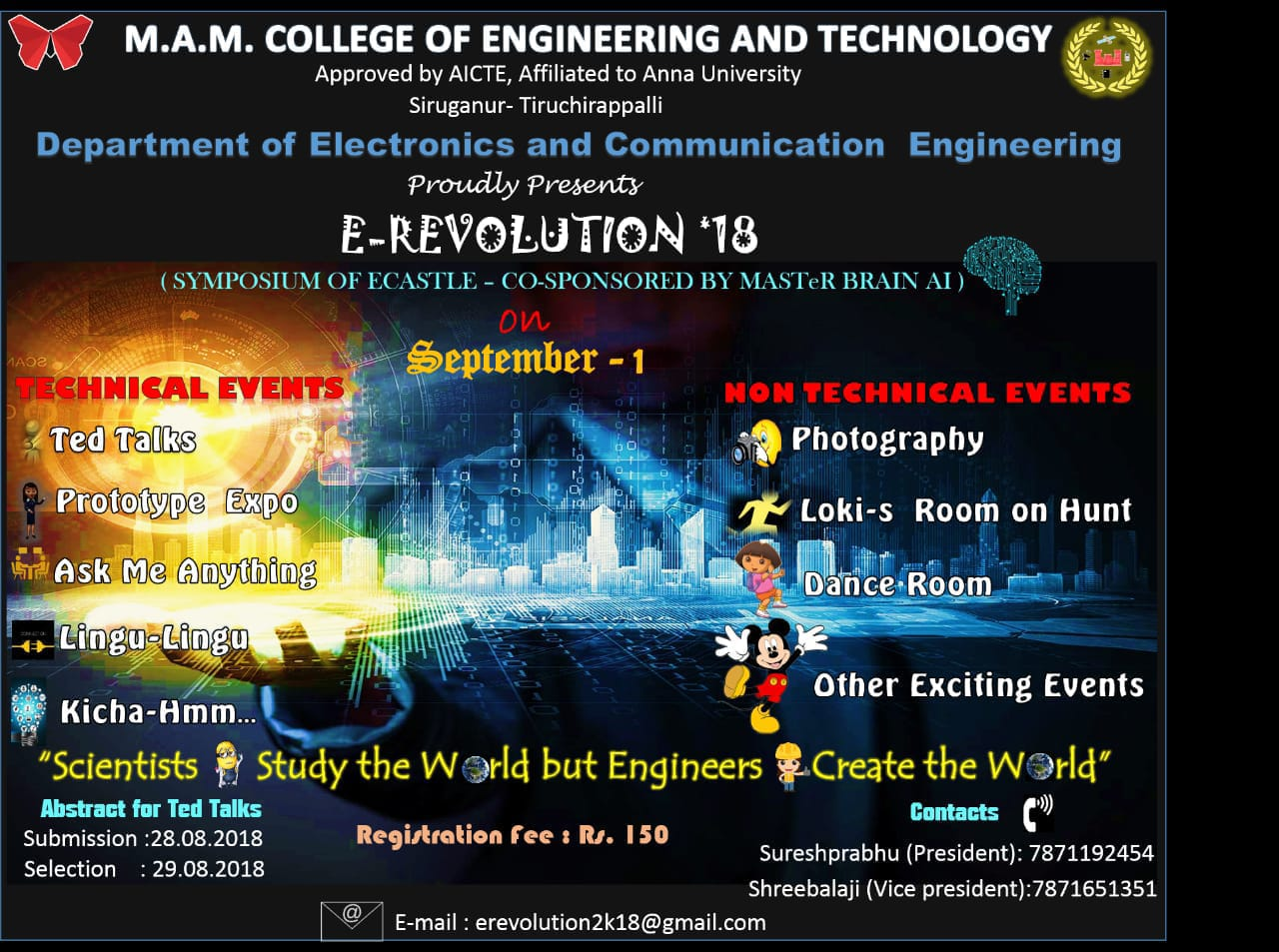 MAMCET: M A M  College of Engineering and Technology